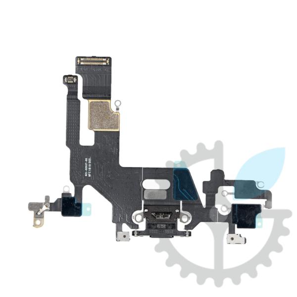Роз'єм (гніздо) зарядки та синхронізації, мікрофон iPhone 11