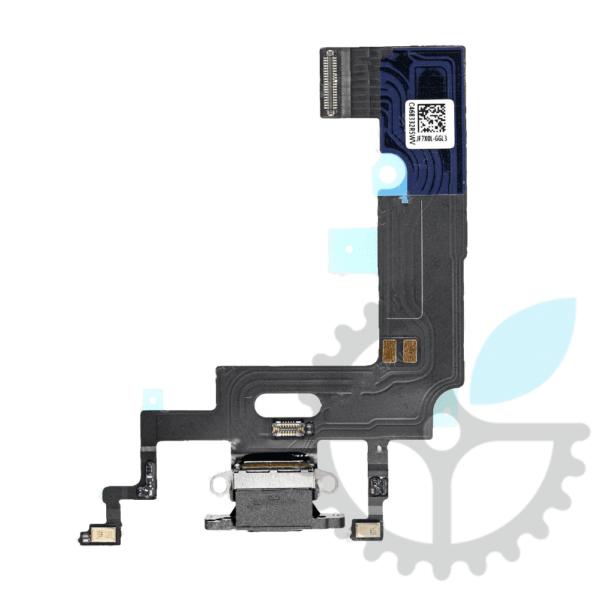 Шлейф (порт) зарядки та синхронізації iPhone XR з нижніми мікрофонами