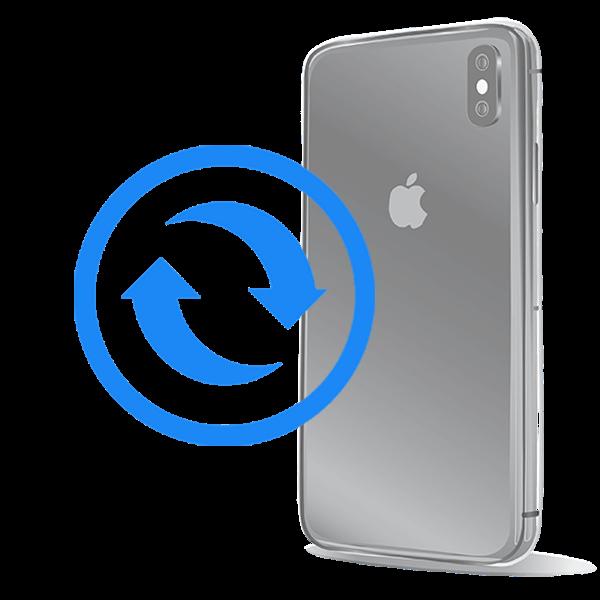 iPhone X Замена стекла задней крышки на