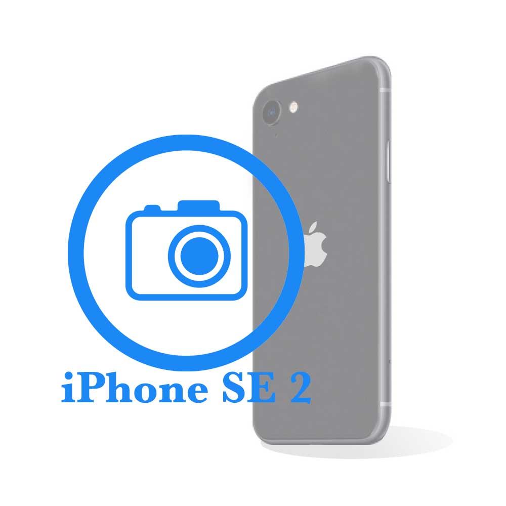 iPhone SE 2 - Замена стекла задней (основной) камеры
