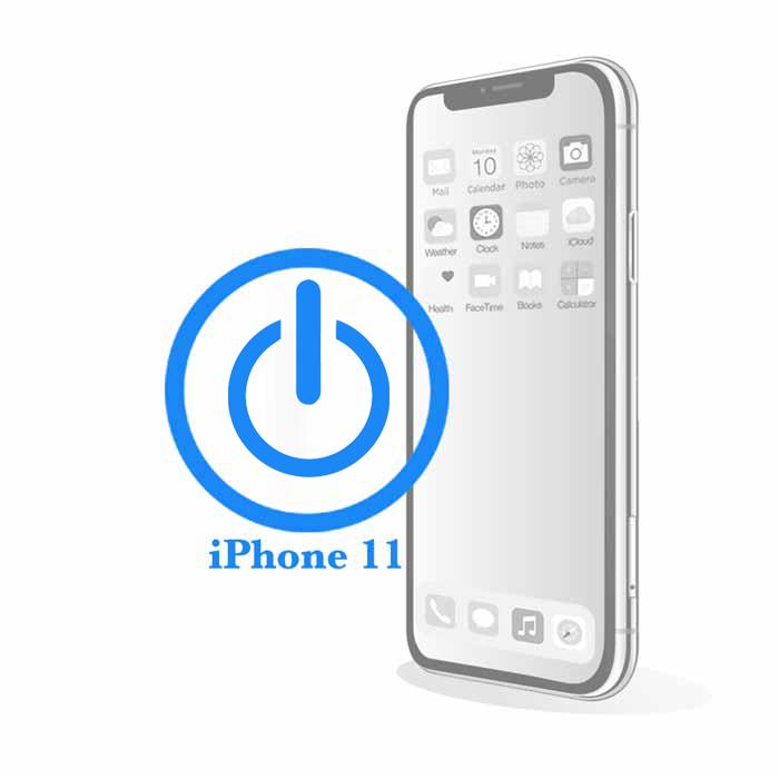 iPhone 11 - Заміна кнопки включення / вимикання Power
