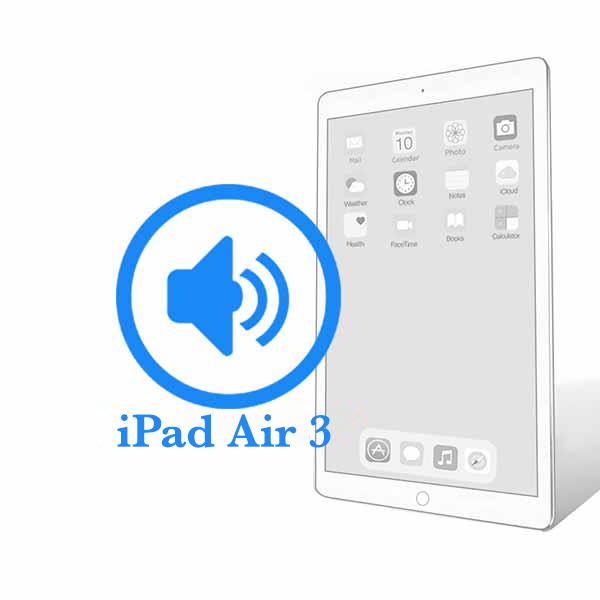 iPad - Заміна поліфонічного динаміка (buzzer) Air 3