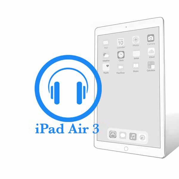iPad - Замена разъёма наушников (гнездо аудиоджека) Air 3