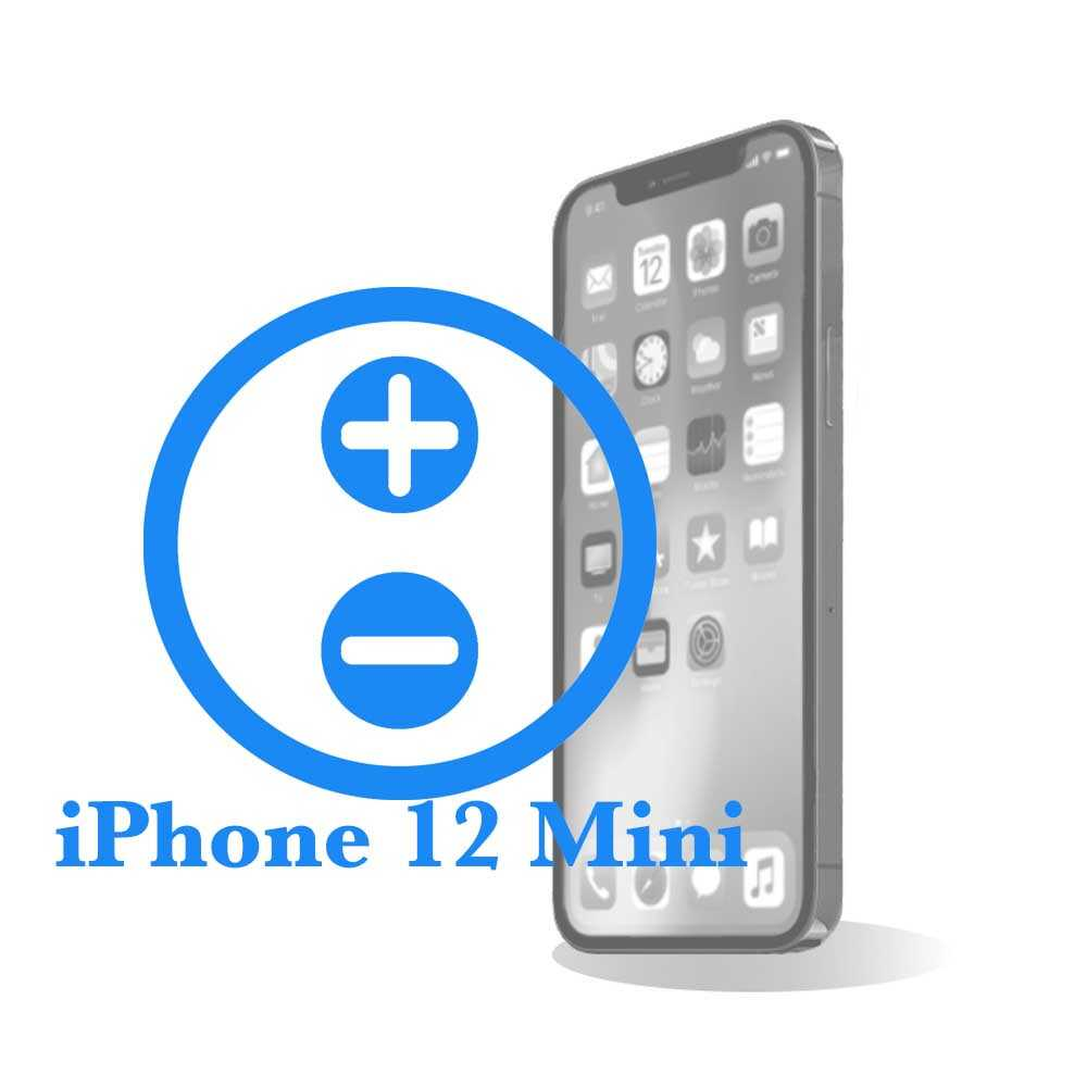 iPhone 12 mini - Замена кнопок управления громкостью