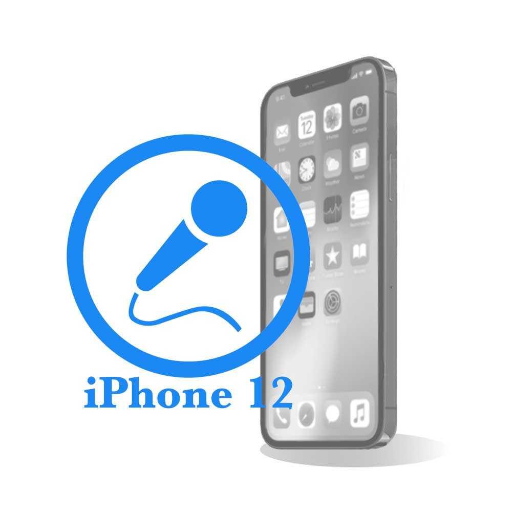 iPhone 12 - Замена микрофона
