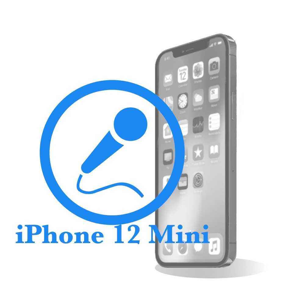 iPhone 12 mini - Замена микрофона