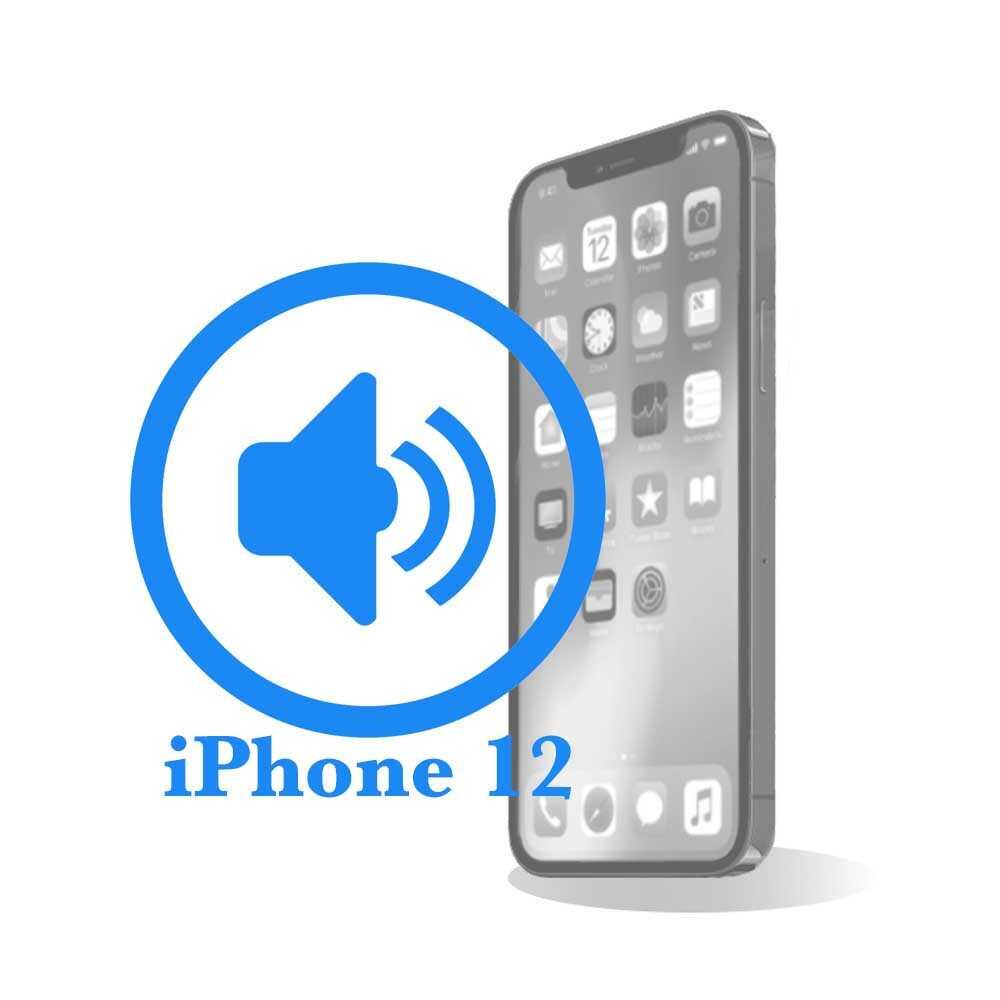 iPhone 12 - Заміна поліфонічного (нижнього) динаміка