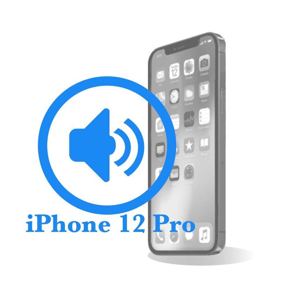 Pro - Заміна поліфонічного (нижнього) динаміка iPhone 12
