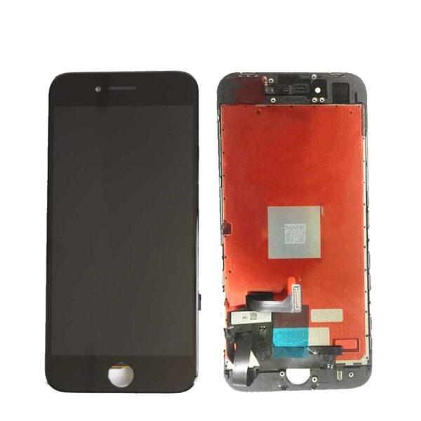 Дисплей, экран в сборе с сенсорным стеклом (тачскрин) для iPhone 8+ Plus копия