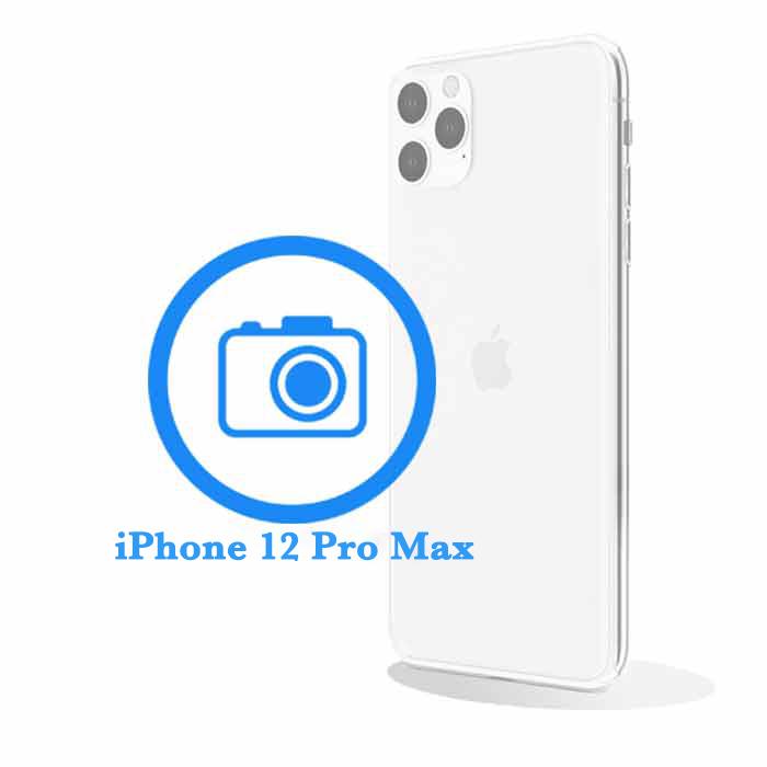 Pro - Заміна задньої (основної ) камери iPhone 12 Max
