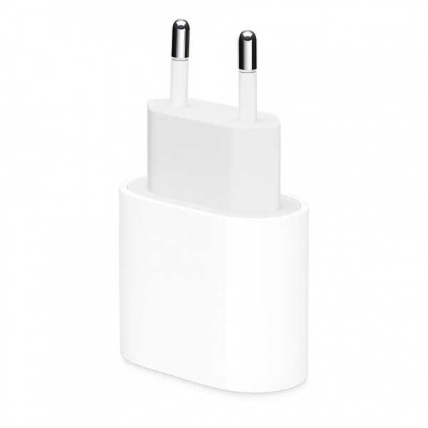 Сетевое зарядное устройство (блок питания) Apple Power Adapter USB-C 20W